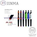 색깔 첨필을%s 가진 승진 선물 플라스틱 볼펜 Jm 1035는 만진다