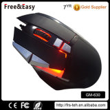 Fábrica LED USB colorido 10d Wired Optical Mouse Juego