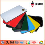 Ideabondのクラッディングの中国の製造者からの物質的なサンプル広告板ポリエステル樹脂の壁パネルの建築材料