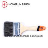Escova de pintura de madeira da cerda do punho (HYW012)