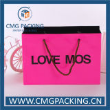 Paper rose Bag avec Handle (CMG-MAY-016)