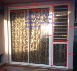 Новаторско окно Jalousie рамки доказательства взломщика обеспеченностью алюминиевое