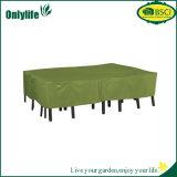 정원 옥외 안뜰 큰 직사각형 테이블 및 의자 고정되는 덮개