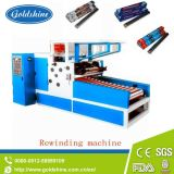 Ligne de machine de rebobinage de pain de papier d'aluminium d'Autmatic