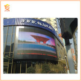 Hoog - dichtheid P6 RGB Outdoor LED Display Screen Advertizing