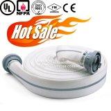 Tubo flessibile resistente a temperatura elevata di lotta antincendio del rivestimento della gomma di nitrile doppio