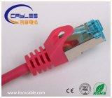 Cuerda de corrección del cable Cat5e CAT6 de la red del LAN de Ethernet
