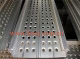 Rolo de aço galvanizado da placa da prancha do andaime que dá forma à máquina Vietnam