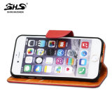 iPhone 6을%s 중국 Supplier Wallet Book Style Leather Mobile Phone Case