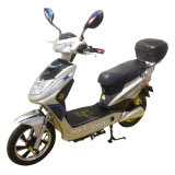 350With500W Brushless Electric Motorcycle met Pedal en Rear Box (S-018)