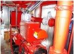 Pompe à incendie diesel Xbc réglé