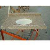Parte superiore di pietra naturale di vanità del granito del marmo della stanza da bagno