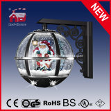 Новое Classic Christmas Snowing Wall Lamp с СИД Lights