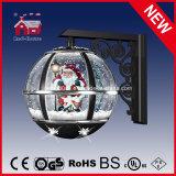 새로운 고전적인 크리스마스 LED 빛을%s 가진 눈이 내리는 벽 램프