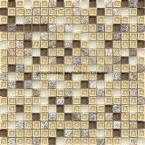 Mosaici di ceramica & di vetro di Crackle quadrato del ghiaccio 2016 con la pietra della coltura
