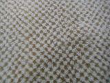Tessuto del sofà della peluche di PV con il reticolo del favo