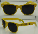Mode Beer Bottle Opener Sunglass, Promotion Sunglasses, Plastic Combine avec Metal Sunglasses (PS788)