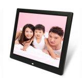 デジタル写真フレーム(HB-DPF1402)を広告するカスタマイズされた14inch TFT LCDスクリーンPlasric