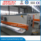 QC12Y-10X3200 유압 탄소 강철 플레이트 깎는 절단기