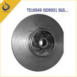 農業機械CNCの機械化の鉄の鋳造ポンプインペラー