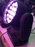 19 Gezoem LEDs die de HoofdVerlichting van het Stadium bewegen