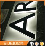 Segno chiaro di pubblicità acrilico della lettera di Lit LED del bordo