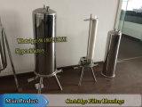 Carcaças de filtro sanitárias do cartucho da carcaça de filtro únicas