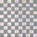 Novo mosaico de vidro de design para decoração (VMM3206)