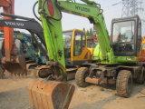 Máquinas escavadoras usadas da roda de Hyundai 60W da máquina escavadora da roda
