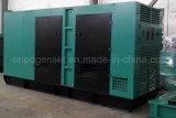 электропитание Soundproof Silent Type Diesel Generator Set 350kw Китая
