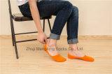 Sommer-Baumwolle trifft Mann-unsichtbare Socken-Tief-Schnitt-Socken für Männer mit Silicion Gel-Ferse hart
