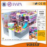 Vasia ha attratto il campo da giuoco dell'interno commerciale di tema della caramella (VS1-160406-242A-32)