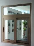 Finestra vetratura doppia singola/di scivolamento dell'alluminio/finestra di alluminio
