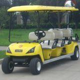 Chariot de golf électrique de 8 passagers (DG-C6+2) avec du CE