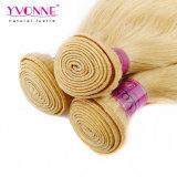 カラー613人間の毛髪のペルーの毛の織り方