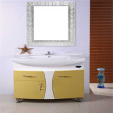 Neues Highquality PVC White Bathroom Vanity mit Mirror