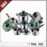 Nuovo insieme tedesco del Cookware dell'acciaio inossidabile dell'elemento