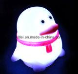 Le plastique vinyle animal de PVC badine le jouet de clignotement de Night-Light de cadeaux