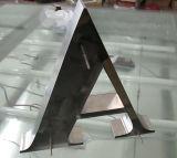 Metallo LED acrilico messo acciaio inossidabile illuminato illuminando i segni esterni della lettera della Manica