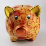 De nieuwe Kleurrijke Ceramische Bank van het Geld van het Varken van de Spaarpot