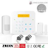 Het getelegrafeerde & Draadloze GSM Systeem van het Alarm voor de Veiligheid van het Huis
