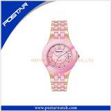 최신 판매 좋은 품질 세라믹 시계 남녀 공통 시계