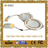 CREE COB 7W Dimmable LED Downlight com Certificação TUV
