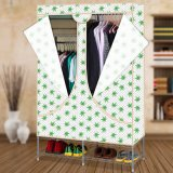 Form Double Door Oxford Fabric Cloth Wardrobe (WS16-0080, für Schlafzimmermöbel)