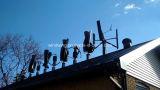 600W on-Grid gerador de vento para uso doméstico (200W-5kw)