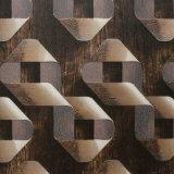 Papier peint décoratif de PVC de 2016 plus défunts modèles 3D