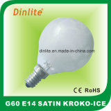 G60 Kroko氷のサテンの白熱球根