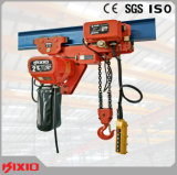 220V One Phase 0.5 Ton 1 Ton Small Electric Chain Hoist