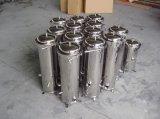 Cárter del filtro de bolso del acero inoxidable Ss316