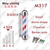 Großhandelsgroßbritannien-klassischer Tricolor drehender Herrenfriseur Pole
